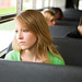 Teenage Girl on Bus