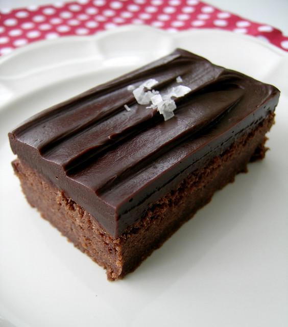 Chocolate Shortbread With Salted Chocolate Ganache | Flickr - Photo ...