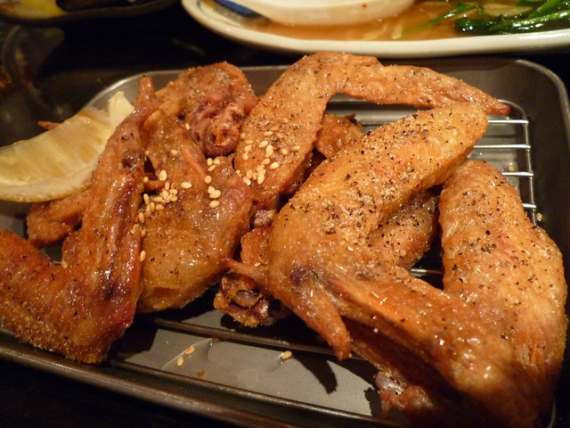 japanese deep fried chicken wings | Flickr - Photo Sharing!
