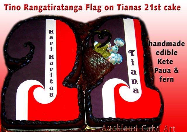 Maori Wedding Cakes