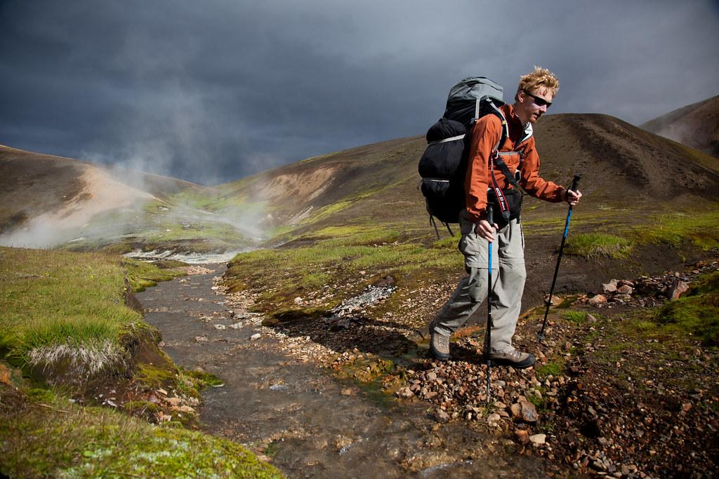 Steaming volcanic landscapes