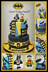Batman Cake Collage