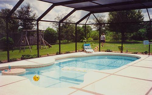 piscina na Flórida