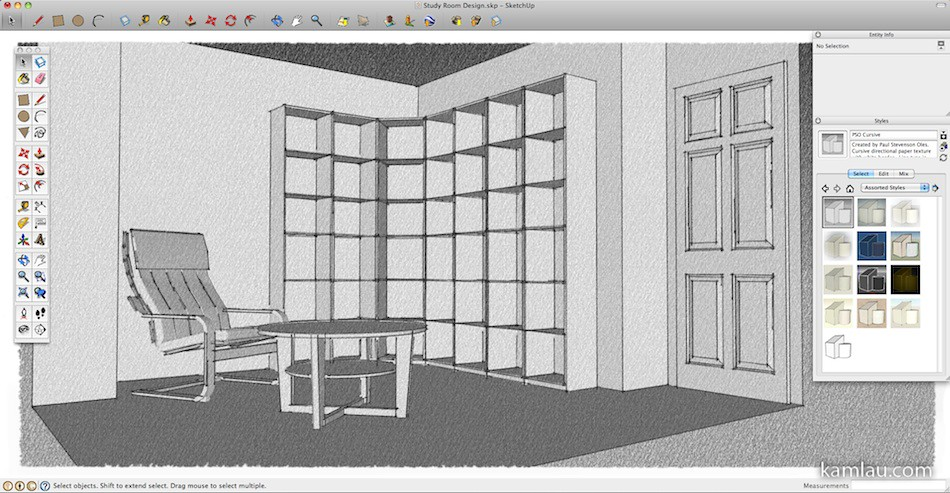 How To Use Google Sketchup For Interior Design