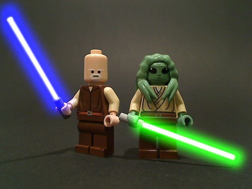 Ki Adi Mundi and Kit Fisto