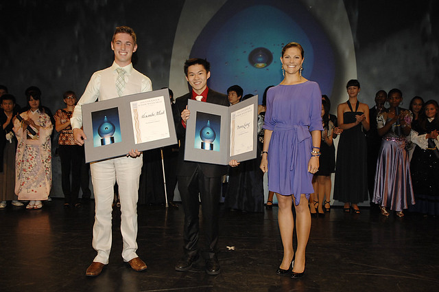 2010 Stockholm Junior Water Prize Winners With Princess
