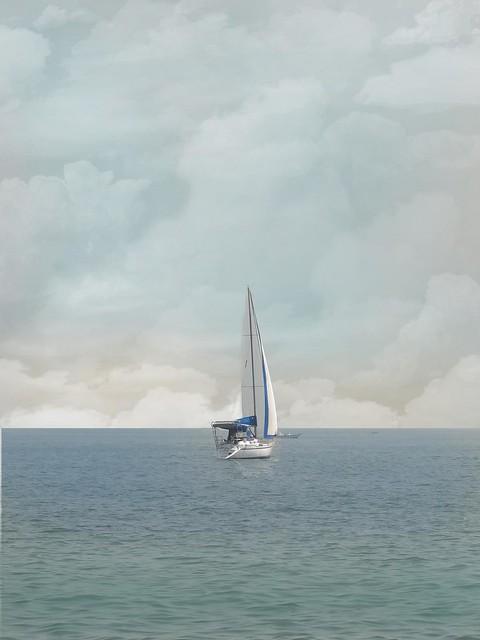 Navegando para o céu...