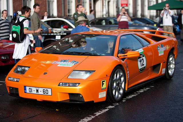 cannonball run ireland 2010 lamborghini diablo 6 0 flickr photo sharing. Black Bedroom Furniture Sets. Home Design Ideas