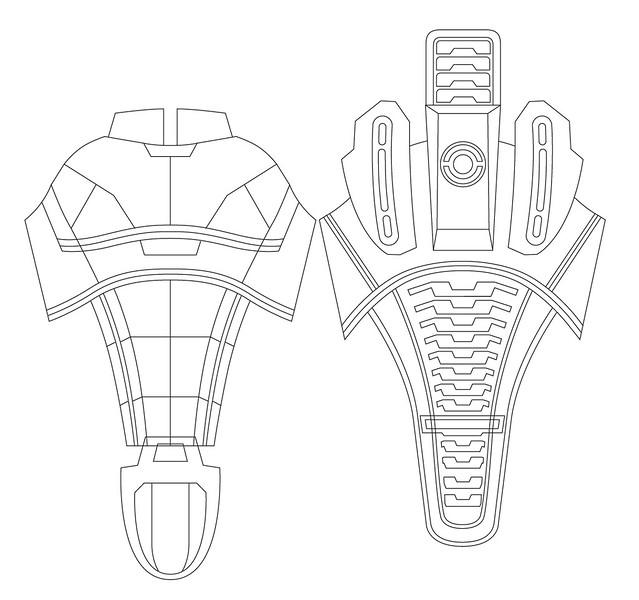 iron man foam armor templates - volpin props n7 armor dragon con 2010 recap