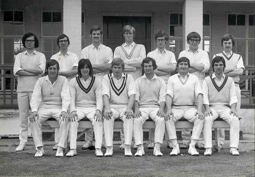 University of York Cricket Club Tour, July 1971