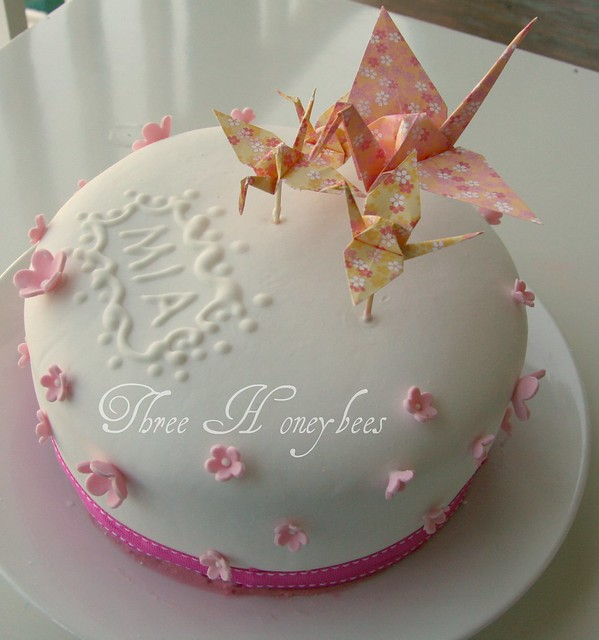 Origami Birthday Cake | Flickr - Photo Sharing! - photo#34