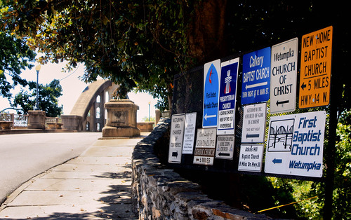 bridge signs window alabama movieset wetumpka grassharp