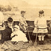 A Victorian family on the beach by lovedaylemon
