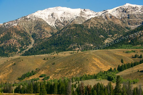 summer snow mountains nature canon photography scenery state c south central first september idaho snowcapped national area late recreation peaks picnik gem stefano 2010 sawtooth rebelxti