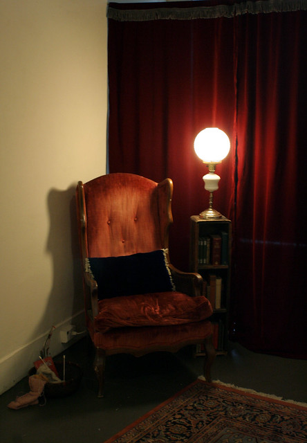 Improbable Remains_reading_chair