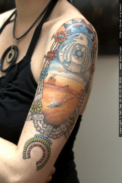 Final Phase Of Rachel S Navajo Themed Tattoo Mg 7066