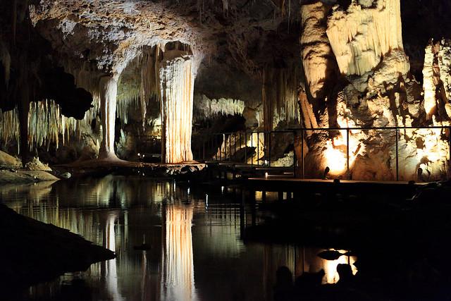 Lake Cave view