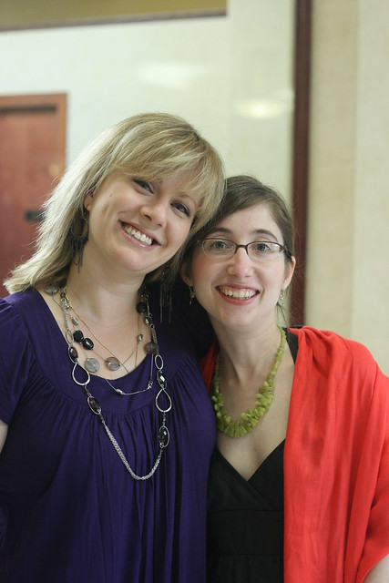 Me and Elana! (probably the first photo of us in at least a decade)