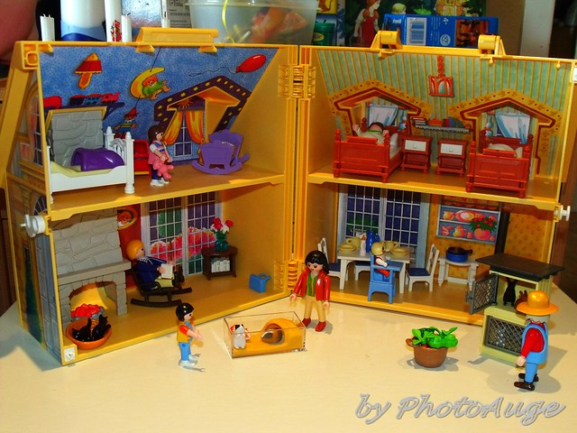 Playmobil haus flickr photo sharing for Playmobil haus schlafzimmer