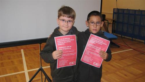 "Pupils from elementary school ""Ljudevit Gaj"" Krapina, Croatia"