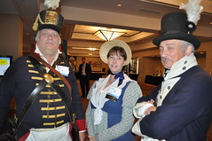 Monroe Michigan Officials in Historical Clothing at MML Convention