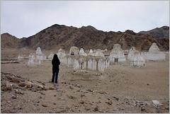 stupa relics, near choglamsar