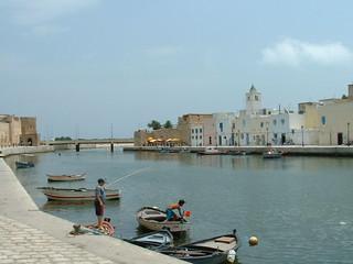 Port of Bizerte, Tunisia