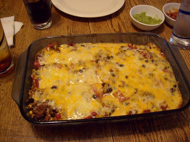 Friday Night Dinner: Quesadilla Casserole   Flickr - Photo Sharing!