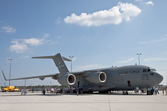 aviation, airplane, vehicle, military transport aircraft, boeing c-17 globemaster iii, wide-body aircraft, jet aircraft, lockheed c-5 galaxy, aircraft engine, air force,