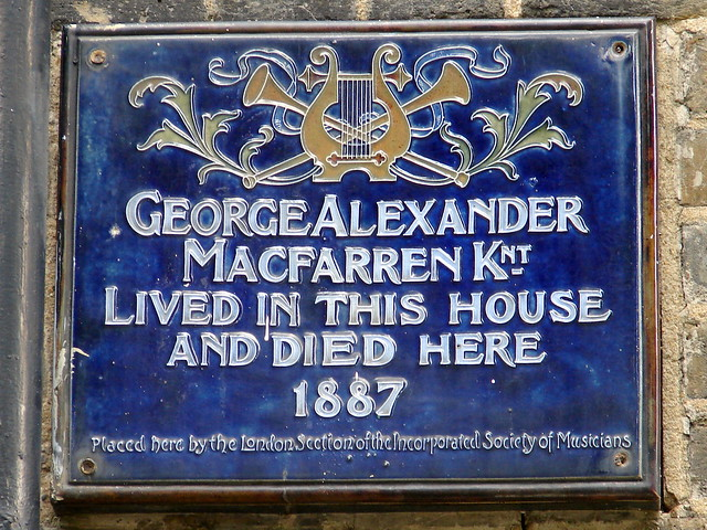 Header of George Alexander Macfarren
