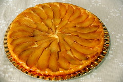 pie, baking, baked goods, produce, custard pie, tart, fruit, food, dish, tarte tatin, dessert,