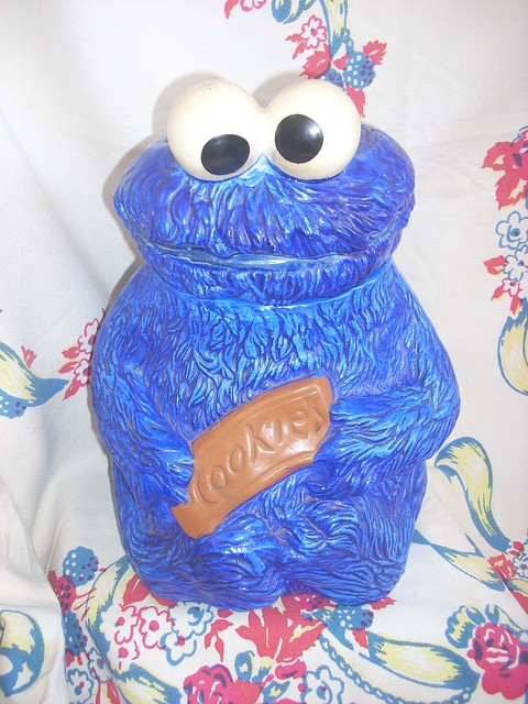 Amazing Vintage Cookie Monster Cookie Jar A Photo On