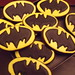 1st attempt at making Batman cookies by CookieJoes