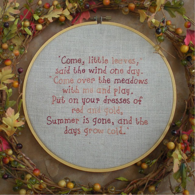 Permalink to autumn leaves are falling down poem