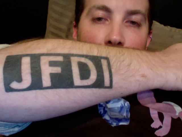 Alex Hillman's Awesome Tattoo