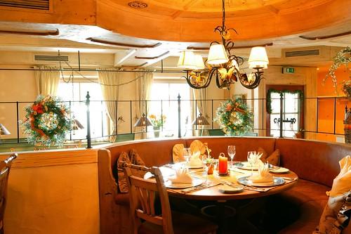 Restaurant, Hotel Zugspitze, Garmisch-Partenkirchen
