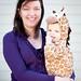 Giraffe & Mommy by Richard Powers