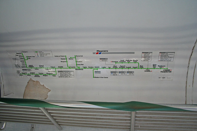 Network South East Thames Map In Class 108 (53628)