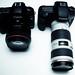 Canon EOS 5D Mark II + Canon EOS 7D by snapshotaesthetic