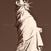 Lady Liberty B&W by eclecticwhatnot
