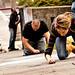 Tacoma Sidewalk Chalk - 2010-10-08