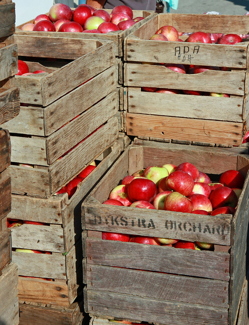 Apple crates flickr photo sharing for How to make apple crates