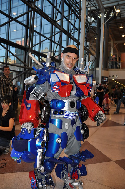 Optimus Prime unmasked