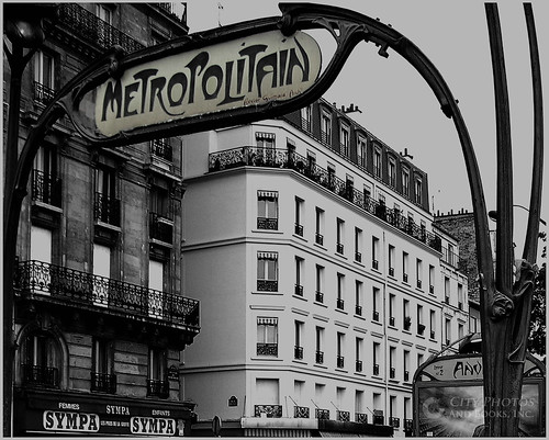 Paris Metro by CityPhotos by Rod