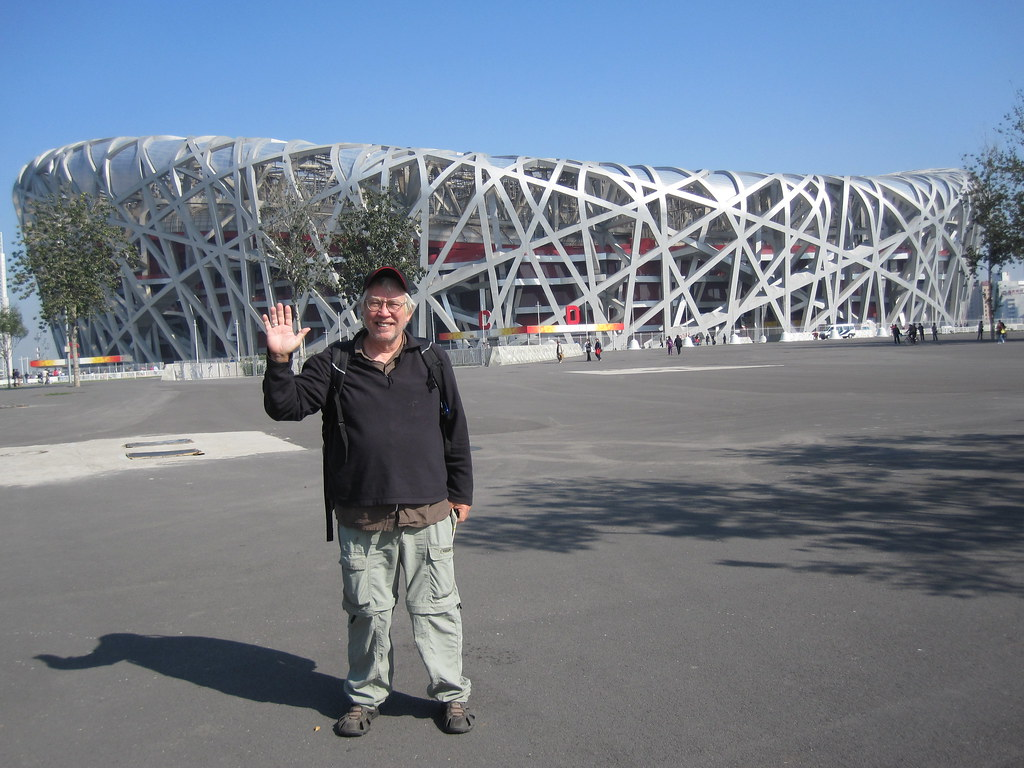 Me at Bird's Nest - Beijing