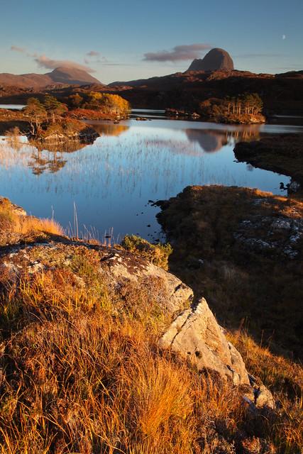 Loch Druim Suardalain, Sutherland. 16/10/10