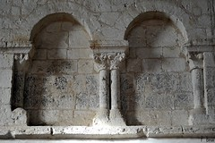 Arcatures de la nef de l'Eglise Notre-Dame d'Autheuil - Orne - Basse Normandie