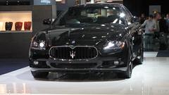 bmw(0.0), sports car(0.0), automobile(1.0), automotive exterior(1.0), maserati(1.0), executive car(1.0), vehicle(1.0), performance car(1.0), automotive design(1.0), maserati quattroporte(1.0), auto show(1.0), bumper(1.0), personal luxury car(1.0), land vehicle(1.0), luxury vehicle(1.0),