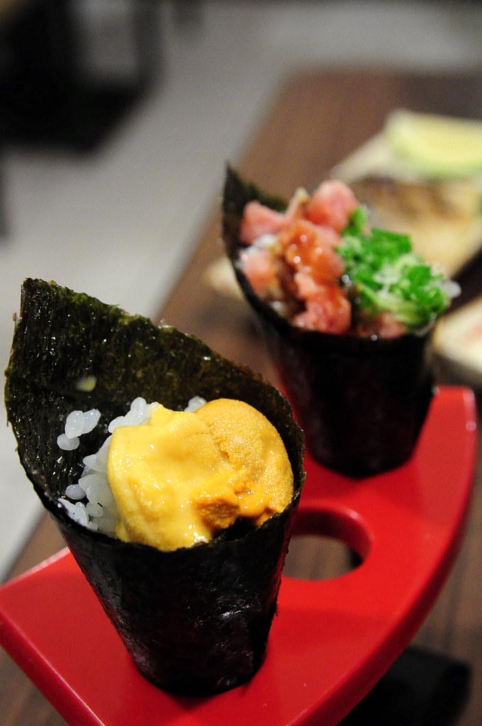 竹壽司-海膽手捲
