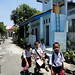 Pulang sekolah. : Children walking home after school.  Photo by Ardian